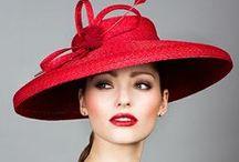 Chic hat--->Elegant head / .