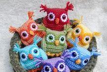 Crochet - Owls / by Emmeltjes Haekerij