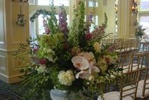 Ceremony, Huppahs, Archways / Flowers to decorate any ceremony space.