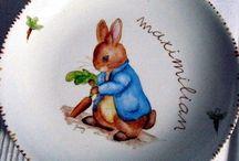Porcelana y niños / Dibujos infantiles