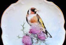Porcelana y pájaros