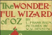 Baum & Wizard of Oz Books / First editions of Baum and Oz/Oziana.