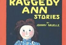 Books from Volland Publishers / Raggedy Ann & Andy, Volland Publishers, and Johnny Gruelle.
