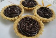 Pies & Tarts / Pies filled with yummy apple mixture. Tarts with various fillings