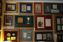 Gift Ideas in Opera + Classical Music + Ballet: Framing Autographs & Memorabilia / Gifts for opera, classical music and ballet fans: ideas in framing autographs and other memorabilia items.