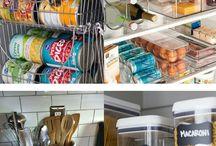 organizing<--