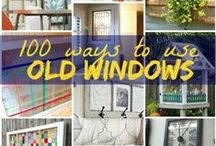 Windows - Creative Reuse & Upcycling Inspiration / Creative reuse & upcycling ideas for old #windows (plus, a smattering of stained glass classics)!