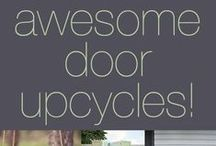 Doors Galore - Creative Reuses; DIY & Design / repurposed #doors!!