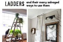 Ladders - Creative Reuses / #ladders!