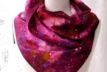 Galaxy Print / All items are handmade printed