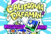California Dreamin' 2015 / Registration is now open for California Dreamin 2015, July 26-August 2, 2015, at the Alameda County Fairgrounds in  Pleasanton, CA. Open to troops of girls grades 6-12 in the summer of 2015. Camp out with thousands of Girl Scouts and Girl Guides from around the world, take fun trips off-site and participate in exciting workshops and so much more!  Get information and register at http://www.cadreamincamporee.org  / by Girl Scouts NorCal
