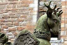 Griffins and Gargoyles / by Kicking Bull Gallery