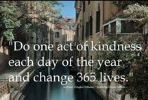 Random Acts of Kindness / Be the reason someone smiles today.
