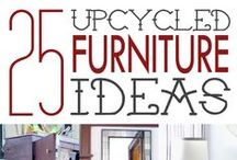 Furniture - Repurpose & Upcycle! / #Repurposed, #Reused & #Upcycled #Furniture