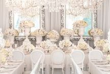 Wedding Reception Decor / Great Reception ideas
