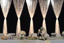 Backdrop & Head Table