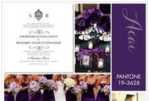 Purple Themed  Wedding Ideas 2014   / Purlple 2014