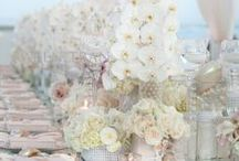 White themed weddngs / Whaute weddngs