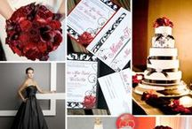 Red Themed Weddings / Red the color of love
