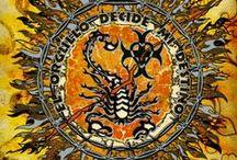 Cave Art & Aztec Time / #ScorpionBay #Tradicciones #Aztec #Art #Mexico