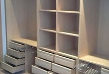 wardrobes / interior distribution of closets