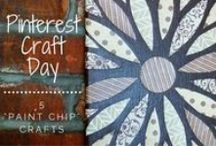 Pinterest Craft Day! / Projects I've attempted that I found on Pinterest!