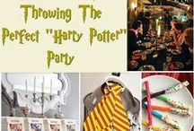 Harry Potter Party / Ideas for a Harry Potter Party!