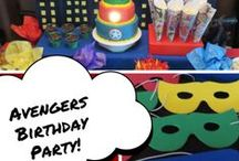 Avengers Birthday Party / How to throw an amazing Avengers Birthday Party!