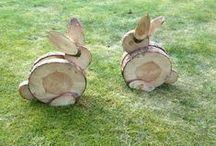 Animali in legno