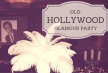 Old Hollywood Glamour Party / Oscar Party
