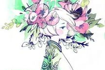 Insipiration: Maruti-Bitamin / A tribute to one of my favorite watercolor artist.