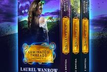The Luminated Threads Volumes 1-3 Box Set / A steampunk fantasy romance trilogy now in an ebook boxed set!