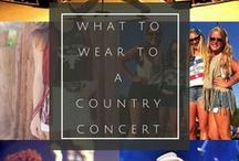 Country Concert / Concert Fashion