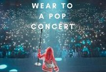 What to wear to a pop concert / Concert Fashion