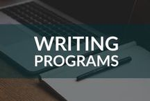 Writing Programs / Find out more about programs designed to make your writing life easier, from Scrivener to Script Studio.