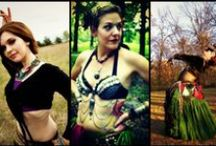 ~♥ Bellydance Muses ♥~ / Being that I am a bellydancer I quite enjoy finding other bellydancers and costume ideas for my dancing alter-ego Adilana Elise!  / by Heather Dierks