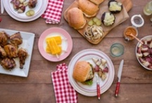 Summer / Ideas and recipes for cookouts, barbeques and the grill.
