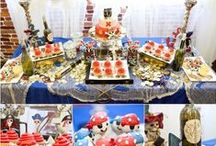 Pirate Theme / A theme that contains invitation, cards, decoration ideas, Jewllery, beads, mpomponieres