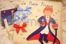 Little Prince / A theme that contains ideas about invitations, mpomponieres, decoration ideas for prince, baby shower for boys