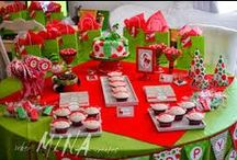 Strawbbery Theme / A theme that contains cards, invitations, mpomponieres, decoration ideas