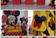Minnie and Mickey Birthday
