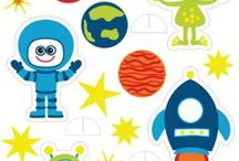 Astronaut Birthday-Space