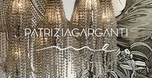 Me by Patrizia Garganti / Inside this collection there is all the charm and sensitivity of Patrizia Garganti.  Delicate collection made of pearl cascades and shining details, mirrored surfaces and circular lampshades... a continuos inspiration!