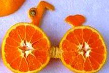 Arte con naranjas / Arte con naranjas