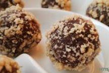 Desszertgolyók / Sütés nélküli desszertgolyók gyorsan, egyszerűen, cukor nélkül ;)