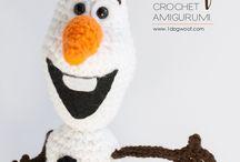 Crochet frozen