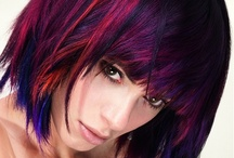 Reds, Violets, and Purples  / We are seeing a trend in these colors for the upcoming season. / by Esperanza Salon and Spa