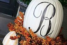 All About Fall / The autumn season brings cooler temps, outdoor activities and a #homedecor refresh