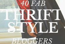 Thrift Style :: / Inspiration on Thrifting