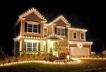 Home for the Holidays / Festive homes for the holiday season #homedecor #Christmas #Hanukkah